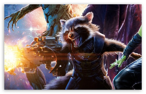Guardians of the Galaxy Rocket Raccoon ❤ 4K UHD Wallpaper for Wide 16:10 5:3 Widescreen WHXGA WQXGA WUXGA WXGA WGA ; 4K UHD 16:9 Ultra High Definition 2160p 1440p 1080p 900p 720p ; Standard 4:3 5:4 3:2 Fullscreen UXGA XGA SVGA QSXGA SXGA DVGA HVGA HQVGA ( Apple PowerBook G4 iPhone 4 3G 3GS iPod Touch ) ; Tablet 1:1 ; iPad 1/2/Mini ; Mobile 4:3 5:3 3:2 16:9 5:4 - UXGA XGA SVGA WGA DVGA HVGA HQVGA ( Apple PowerBook G4 iPhone 4 3G 3GS iPod Touch ) 2160p 1440p 1080p 900p 720p QSXGA SXGA ;
