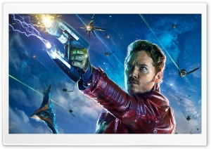 Guardians Of The Galaxy Star Lord HD Wide Wallpaper for Widescreen