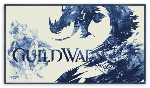Guild Wars 2 - Blue 3 Toned ❤ 4K UHD Wallpaper for 4K UHD 16:9 Ultra High Definition 2160p 1440p 1080p 900p 720p ;