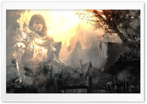 Guild Wars 2 - Warm LT HD Wide Wallpaper for Widescreen