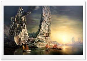 Guild Wars 2 Artwork HD Wide Wallpaper for Widescreen