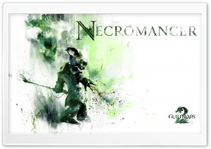 Guild Wars 2 Asura Necromancer HD Wide Wallpaper for Widescreen