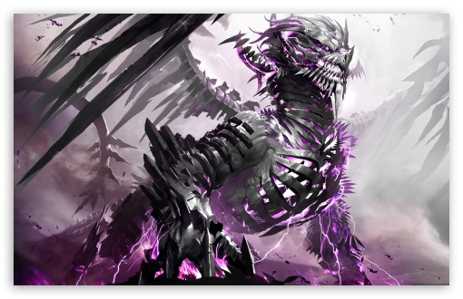 Download Guild Wars 2 Dragon UltraHD Wallpaper
