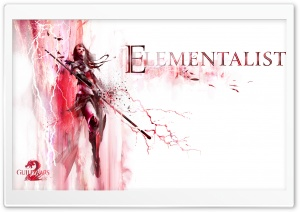 Guild Wars 2 Elementalist HD Wide Wallpaper for Widescreen