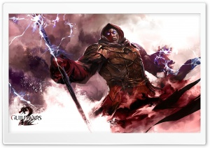 Guild Wars 2 Elementalist Male HD Wide Wallpaper for Widescreen