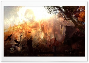 Guild Wars 2 Full Color Dispelled HD Wide Wallpaper for Widescreen