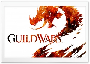 Guild Wars 2 Logo HD Wide Wallpaper for 4K UHD Widescreen desktop & smartphone
