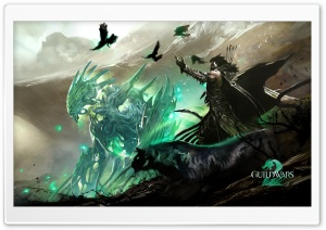 Guild Wars 2 Ranger HD Wide Wallpaper for 4K UHD Widescreen desktop & smartphone
