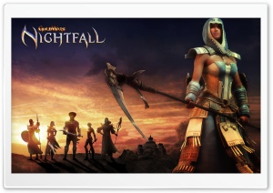 Guild Wars Nightfall HD Wide Wallpaper for 4K UHD Widescreen desktop & smartphone