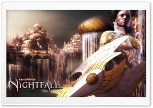 Guild Wars Nightfall - Paragon HD Wide Wallpaper for Widescreen