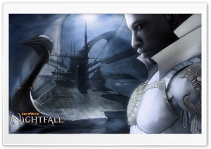 Guild Wars Nightfall - Paragon Closeup HD Wide Wallpaper for Widescreen