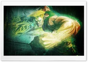 GUILE IN STREET FIGHTER HD Wide Wallpaper for Widescreen
