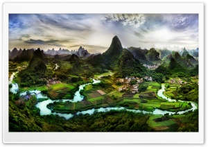Guilin, China HD Wide Wallpaper for Widescreen