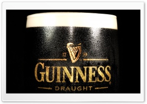 Guinness Glass HD Wide Wallpaper for 4K UHD Widescreen desktop & smartphone