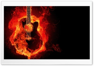 Guitar HD Wide Wallpaper for 4K UHD Widescreen desktop & smartphone