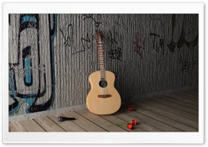 Guitar Ultra HD Wallpaper for 4K UHD Widescreen desktop, tablet & smartphone