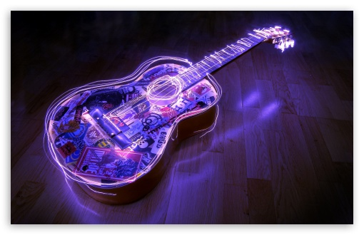 Guitar, Creative Art HD wallpaper for Wide 16:10 5:3 Widescreen WHXGA WQXGA WUXGA WXGA WGA ; HD 16:9 High Definition WQHD QWXGA 1080p 900p 720p QHD nHD ; Standard 4:3 5:4 3:2 Fullscreen UXGA XGA SVGA QSXGA SXGA DVGA HVGA HQVGA devices ( Apple PowerBook G4 iPhone 4 3G 3GS iPod Touch ) ; iPad 1/2/Mini ; Mobile 4:3 5:3 3:2 16:9 5:4 - UXGA XGA SVGA WGA DVGA HVGA HQVGA devices ( Apple PowerBook G4 iPhone 4 3G 3GS iPod Touch ) WQHD QWXGA 1080p 900p 720p QHD nHD QSXGA SXGA ;