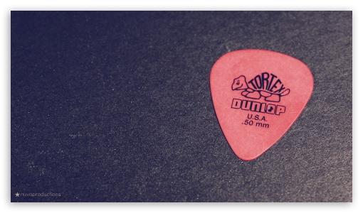 Download Guitar Pick UltraHD Wallpaper