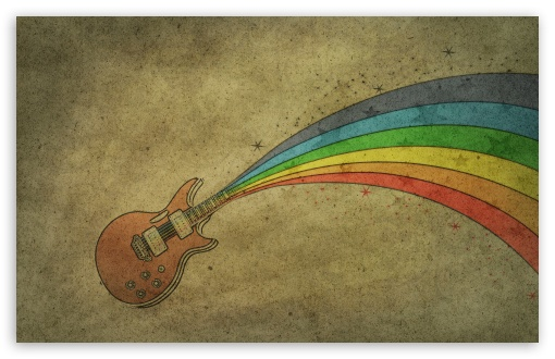 Guitar Rainbow HD wallpaper for Wide 16:10 5:3 Widescreen WHXGA WQXGA WUXGA WXGA WGA ; HD 16:9 High Definition WQHD QWXGA 1080p 900p 720p QHD nHD ; Standard 4:3 5:4 3:2 Fullscreen UXGA XGA SVGA QSXGA SXGA DVGA HVGA HQVGA devices ( Apple PowerBook G4 iPhone 4 3G 3GS iPod Touch ) ; Tablet 1:1 ; iPad 1/2/Mini ; Mobile 4:3 5:3 3:2 16:9 5:4 - UXGA XGA SVGA WGA DVGA HVGA HQVGA devices ( Apple PowerBook G4 iPhone 4 3G 3GS iPod Touch ) WQHD QWXGA 1080p 900p 720p QHD nHD QSXGA SXGA ;