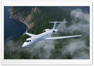 Gulfstream G550 HD Wide Wallpaper for 4K UHD Widescreen desktop & smartphone