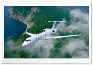 Gulfstream G550 HD Wide Wallpaper for Widescreen