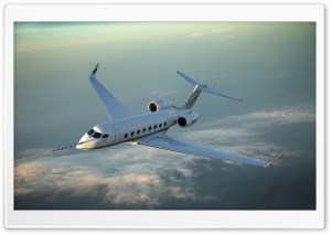 Gulfstream G650 HD Wide Wallpaper for Widescreen