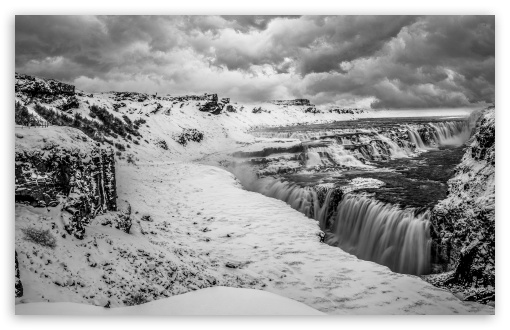 Gullfoss waterfall, Iceland, Winter, Black and White UltraHD Wallpaper for Wide 16:10 5:3 Widescreen WHXGA WQXGA WUXGA WXGA WGA ; UltraWide 21:9 24:10 ; 8K UHD TV 16:9 Ultra High Definition 2160p 1440p 1080p 900p 720p ; UHD 16:9 2160p 1440p 1080p 900p 720p ; Standard 4:3 5:4 3:2 Fullscreen UXGA XGA SVGA QSXGA SXGA DVGA HVGA HQVGA ( Apple PowerBook G4 iPhone 4 3G 3GS iPod Touch ) ; Smartphone 16:9 3:2 5:3 2160p 1440p 1080p 900p 720p DVGA HVGA HQVGA ( Apple PowerBook G4 iPhone 4 3G 3GS iPod Touch ) WGA ; Tablet 1:1 ; iPad 1/2/Mini ; Mobile 4:3 5:3 3:2 16:9 5:4 - UXGA XGA SVGA WGA DVGA HVGA HQVGA ( Apple PowerBook G4 iPhone 4 3G 3GS iPod Touch ) 2160p 1440p 1080p 900p 720p QSXGA SXGA ; Dual 16:10 5:3 16:9 4:3 5:4 3:2 WHXGA WQXGA WUXGA WXGA WGA 2160p 1440p 1080p 900p 720p UXGA XGA SVGA QSXGA SXGA DVGA HVGA HQVGA ( Apple PowerBook G4 iPhone 4 3G 3GS iPod Touch ) ;