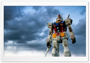 Gundam Odaiba HD Wide Wallpaper for Widescreen