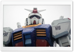 Gundam Odaiba, Tokyo, Japan HD Wide Wallpaper for Widescreen