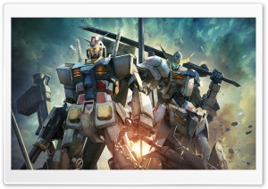 Gundam Versus Video Game HD Wide Wallpaper for Widescreen