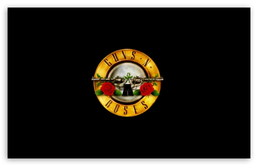 Guns 'n' Roses Logo (HD) 4K HD Desktop Wallpaper for ...