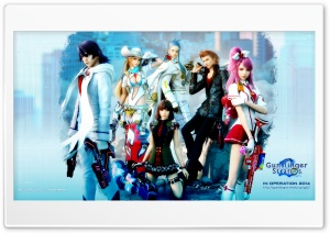 Gunslinger Stratos 2 HD Wide Wallpaper for Widescreen