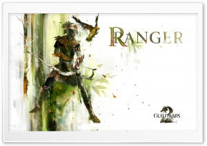 GW2 Ranger HD Wide Wallpaper for Widescreen