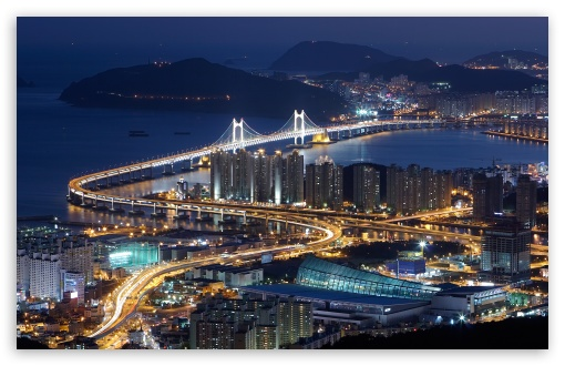 Gwangan Bridge, Busan, South Korea HD wallpaper for Wide 16:10 5:3 Widescreen WHXGA WQXGA WUXGA WXGA WGA ; HD 16:9 High Definition WQHD QWXGA 1080p 900p 720p QHD nHD ; Standard 4:3 5:4 3:2 Fullscreen UXGA XGA SVGA QSXGA SXGA DVGA HVGA HQVGA devices ( Apple PowerBook G4 iPhone 4 3G 3GS iPod Touch ) ; Tablet 1:1 ; iPad 1/2/Mini ; Mobile 4:3 5:3 3:2 16:9 5:4 - UXGA XGA SVGA WGA DVGA HVGA HQVGA devices ( Apple PowerBook G4 iPhone 4 3G 3GS iPod Touch ) WQHD QWXGA 1080p 900p 720p QHD nHD QSXGA SXGA ;