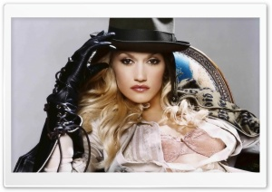 Gwen Stefani HD Wide Wallpaper for Widescreen