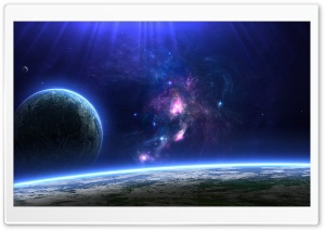 Habitable Planets HD Wide Wallpaper for Widescreen