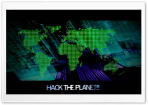 Hack the Planet HD Wide Wallpaper for 4K UHD Widescreen desktop & smartphone