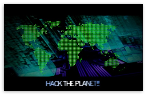 Hack The Planet Ultra Hd Desktop Background Wallpaper For 4k