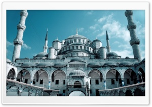 Hagia Sophia Mosque In Istanbul HD Wide Wallpaper for Widescreen