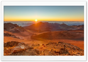 Haleakala, Hawaii a Rare and Sacred Landscape Ultra HD Wallpaper for 4K UHD Widescreen desktop, tablet & smartphone