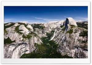 Half Dome Yosemite HD Wide Wallpaper for Widescreen