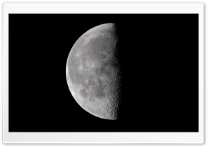Half Moon HD Wide Wallpaper for 4K UHD Widescreen desktop & smartphone