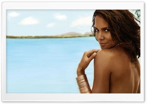 Halle Berry HD Wide Wallpaper for 4K UHD Widescreen desktop & smartphone