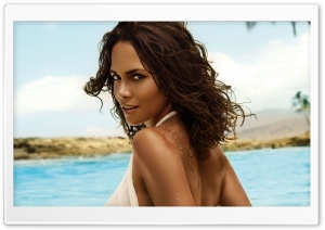 Halle Berry HD Wide Wallpaper for Widescreen
