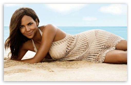Halle Berry On The Beach HD wallpaper for Wide 16:10 5:3 Widescreen WHXGA WQXGA WUXGA WXGA WGA ; HD 16:9 High Definition WQHD QWXGA 1080p 900p 720p QHD nHD ; Standard 4:3 5:4 3:2 Fullscreen UXGA XGA SVGA QSXGA SXGA DVGA HVGA HQVGA devices ( Apple PowerBook G4 iPhone 4 3G 3GS iPod Touch ) ; Tablet 1:1 ; iPad 1/2/Mini ; Mobile 4:3 5:3 3:2 16:9 5:4 - UXGA XGA SVGA WGA DVGA HVGA HQVGA devices ( Apple PowerBook G4 iPhone 4 3G 3GS iPod Touch ) WQHD QWXGA 1080p 900p 720p QHD nHD QSXGA SXGA ;