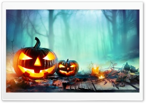 Halloween 2019 Decorations Ultra HD Wallpaper for 4K UHD Widescreen desktop, tablet & smartphone
