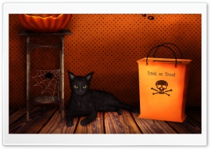 Halloween   Trick Or Treat HD Wide Wallpaper for Widescreen