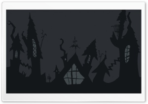 Halloween Art HD Wide Wallpaper for Widescreen