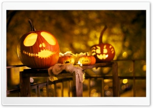 Halloween Decorations HD Wide Wallpaper for Widescreen