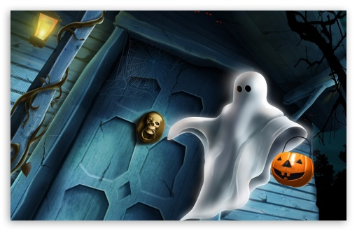 Halloween Ghost HD wallpaper for Standard 4:3 5:4 Fullscreen UXGA XGA SVGA QSXGA SXGA ; Wide 16:10 5:3 Widescreen WHXGA WQXGA WUXGA WXGA WGA ; HD 16:9 High Definition WQHD QWXGA 1080p 900p 720p QHD nHD ; Other 3:2 DVGA HVGA HQVGA devices ( Apple PowerBook G4 iPhone 4 3G 3GS iPod Touch ) ; Mobile VGA WVGA iPhone iPad PSP Phone - VGA QVGA Smartphone ( PocketPC GPS iPod Zune BlackBerry HTC Samsung LG Nokia Eten Asus ) WVGA WQVGA Smartphone ( HTC Samsung Sony Ericsson LG Vertu MIO ) HVGA Smartphone ( Apple iPhone iPod BlackBerry HTC Samsung Nokia ) Sony PSP Zune HD Zen ; Tablet 2 ;